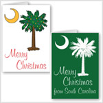 Palmetto Moon Christmas Cards and Postage