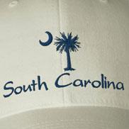 Embroidered South Carolina Palmetto